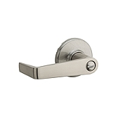 Kingston Privacy/Bed/Bath Light Commercial, Satin Nickel 733KNL 15 | Kwikset Door Hardware