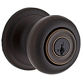 Phoenix Door Knobs, Venetian Bronze 740PE 11P SMT | Kwikset Door Hardware