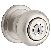 Phoenix Door Knobs, Satin Nickel 740PE 15 SMT | Kwikset Door Hardware
