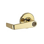 Kingston Light Commercial, Polished Brass 781KNL 3 | Kwikset Door Hardware