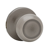 Copa Inactive/Dummy Door Knobs, Antique Nickel 788C 15A | Kwikset Door Hardware