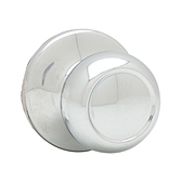 Copa Inactive/Dummy Door Knobs, Polished Chrome 788C 26 | Kwikset Door Hardware