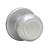 Copa Inactive/Dummy Door Knobs, Satin Chrome 788C 26D | Kwikset Door Hardware