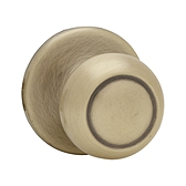 Copa Inactive/Dummy Door Knobs, Antique Brass 788C 5 | Kwikset Door Hardware