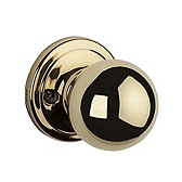 Circa Inactive/Dummy Door Knobs, Polished Brass 788CA 3 | Kwikset Door Hardware