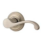 Commonwealth Inactive/Dummy Door Levers, Satin Nickel 788CHL RH 15 | Kwikset Door Hardware