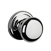 Hancock Inactive/Dummy Door Knobs, Polished Chrome 788H 26 | Kwikset Door Hardware