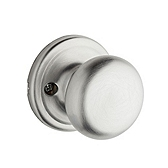 Hancock Inactive/Dummy Door Knobs, Satin Chrome 788H 26D | Kwikset Door Hardware