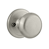 Juno Inactive/Dummy Door Knobs, Satin Nickel 788J 15 | Kwikset Door Hardware