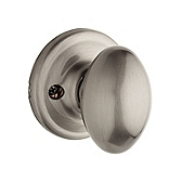 Laurel Inactive/Dummy Door Knobs, Satin Nickel 788L 15 | Kwikset Door Hardware