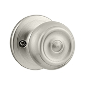 Phoenix Inactive/Dummy Door Knobs, Satin Nickel 788PE 15 | Kwikset Door Hardware