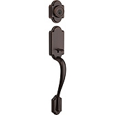 Arlington Single Cylinder Handlesets, Venetian Bronze 800AN LIP 11P SMT | Kwikset Door Hardware