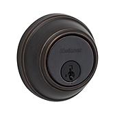 Key Control Deadbolt , Venetian Bronze 816 11P SMT | Kwikset Door Hardware