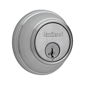 Key Control Deadbolt  , Satin Chrome 816 26D SMT | Kwikset Door Hardware