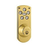 Powerbolt  , Lifetime Polished Brass 907 LO3 SMT | Kwikset Door Hardware