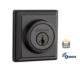 Square Signature Series Deadbolt - Lifetime Polished Brass