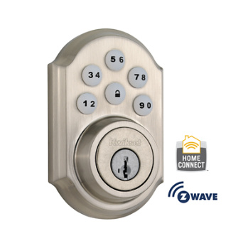Traditional Smartcode Deadbolt With Z Wave Technology