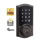 SmartCode Deadbolt , Venetian Bronze 916TRL ZW 11P UL | Kwikset Door Hardware