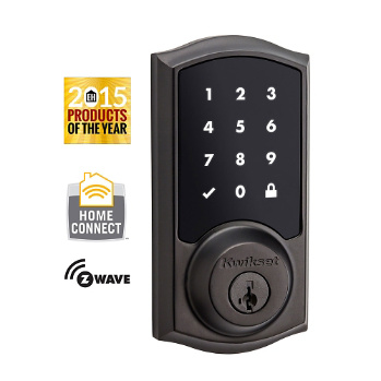 Smartcode 916 Touchscreen Electronic Deadbolt With Z Wave