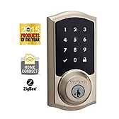 SmartCode Deadbolt , Satin Nickel 916TRL ZB 15 UL | Kwikset Door Hardware