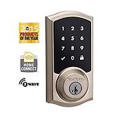 SmartCode Deadbolt , Satin Nickel 916TRL ZW 15 UL | Kwikset Door Hardware