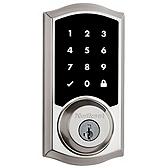 Premis Apple HomeKit™ Smart Lock , Satin Nickel 919TRL 15 SMT | Kwikset Door Hardware