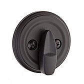 980/985 Deadbolt  , Iron Black 980 514 SMT | Kwikset Door Hardware