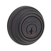 980/985 Deadbolt , Venetian Bronze 985 11P SMT | Kwikset Door Hardware