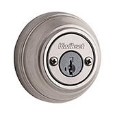 980/985 Deadbolt , Satin Nickel 985 15 SMT | Kwikset Door Hardware