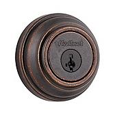 980/985 Deadbolt , Rustic Bronze 985 501 SMT | Kwikset Door Hardware