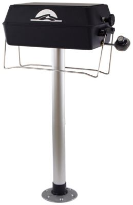 Springfield Marine Propane Pedestal Grill with BBQ Thread-lock