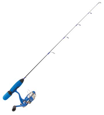 Clam Dave Genz True Blue Ice Fishing Spinning Combo