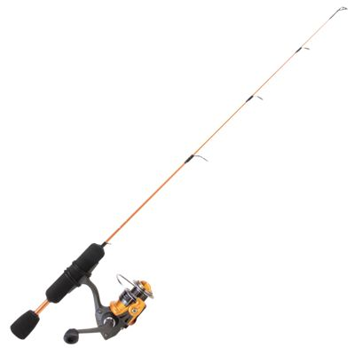 Clam Dave Genz Power Stick Ice Fishing Spinning Combo