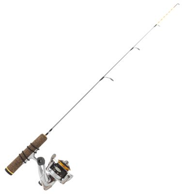Clam Jason Mitchell Meat Stick Ice Fishing Spinning Combo