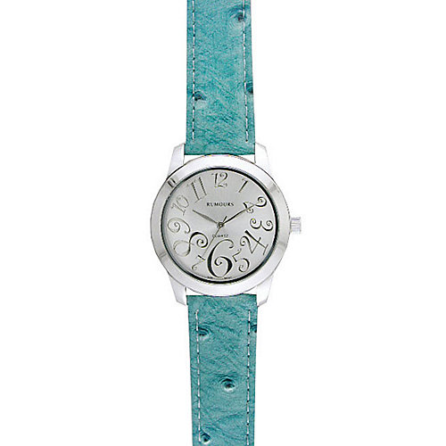 Bay Studio Blue Round Band Watch