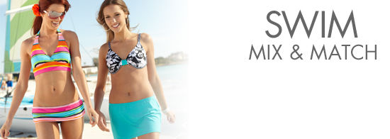 Womens Mix n Match Swimwear