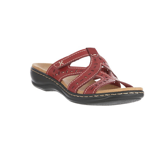 Clarks Lesia Truffle Womens Slide Sandals