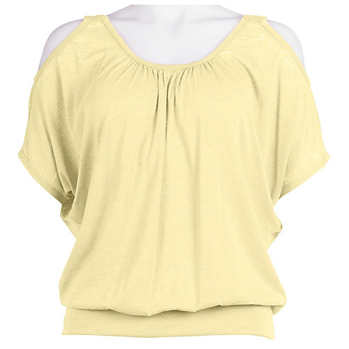 Bay Studio Cold Shoulder Top