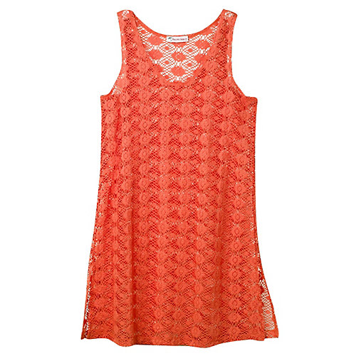 Pacific Beach Sleeveless Tunic Cover Up