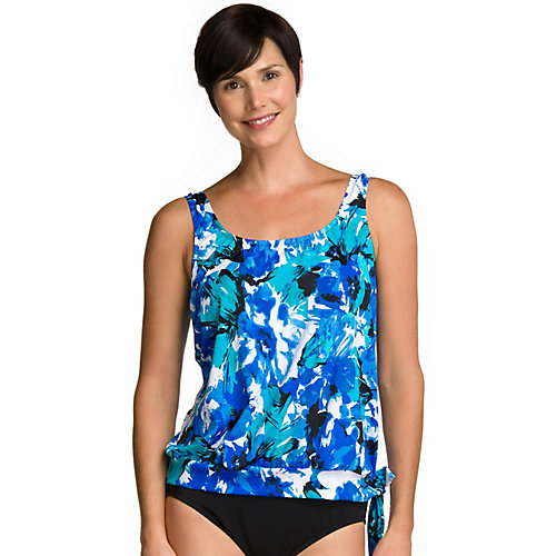 Maxine Of Hollywood Spring Fling Tankini Top