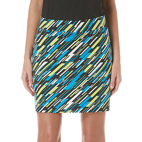 PGA TOUR Digital Colorblock Elastic Skorts