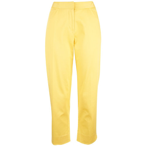 Palm Island Solid Ankle Pants