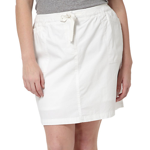 Coral Bay Plus Solid Drawstring Skorts