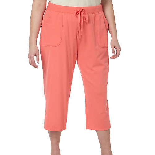 SunBay Plus Soft Knit Drawstring Capris