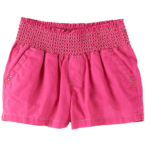Tyte Smocked Waist Solid Shorts