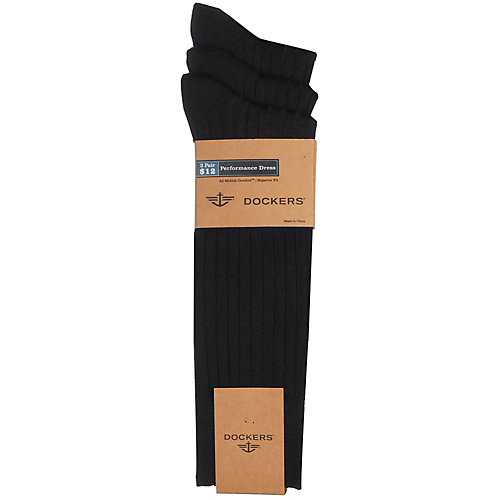 Dockers® 3-pk. Rayon From Bamboo Dress Socks