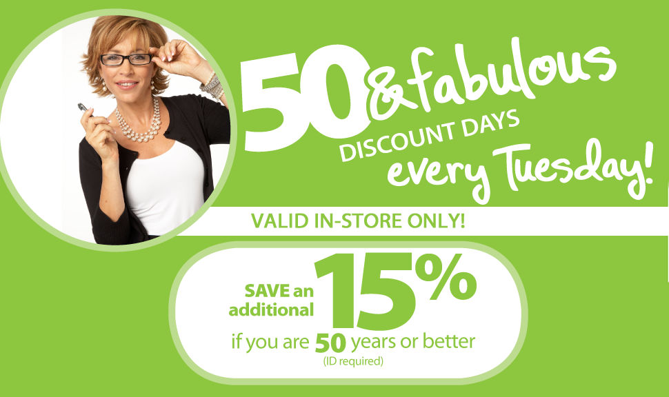 Bealls Florida Senior Discount Days!