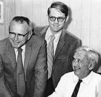 1970 - Three generations, Robert M. 'Bob' Beall joins