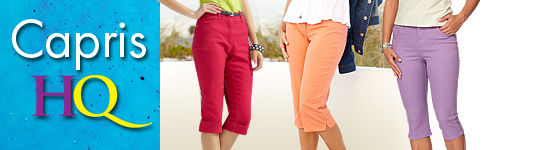 Shop Capris for Women, Misses, Petites & Plus