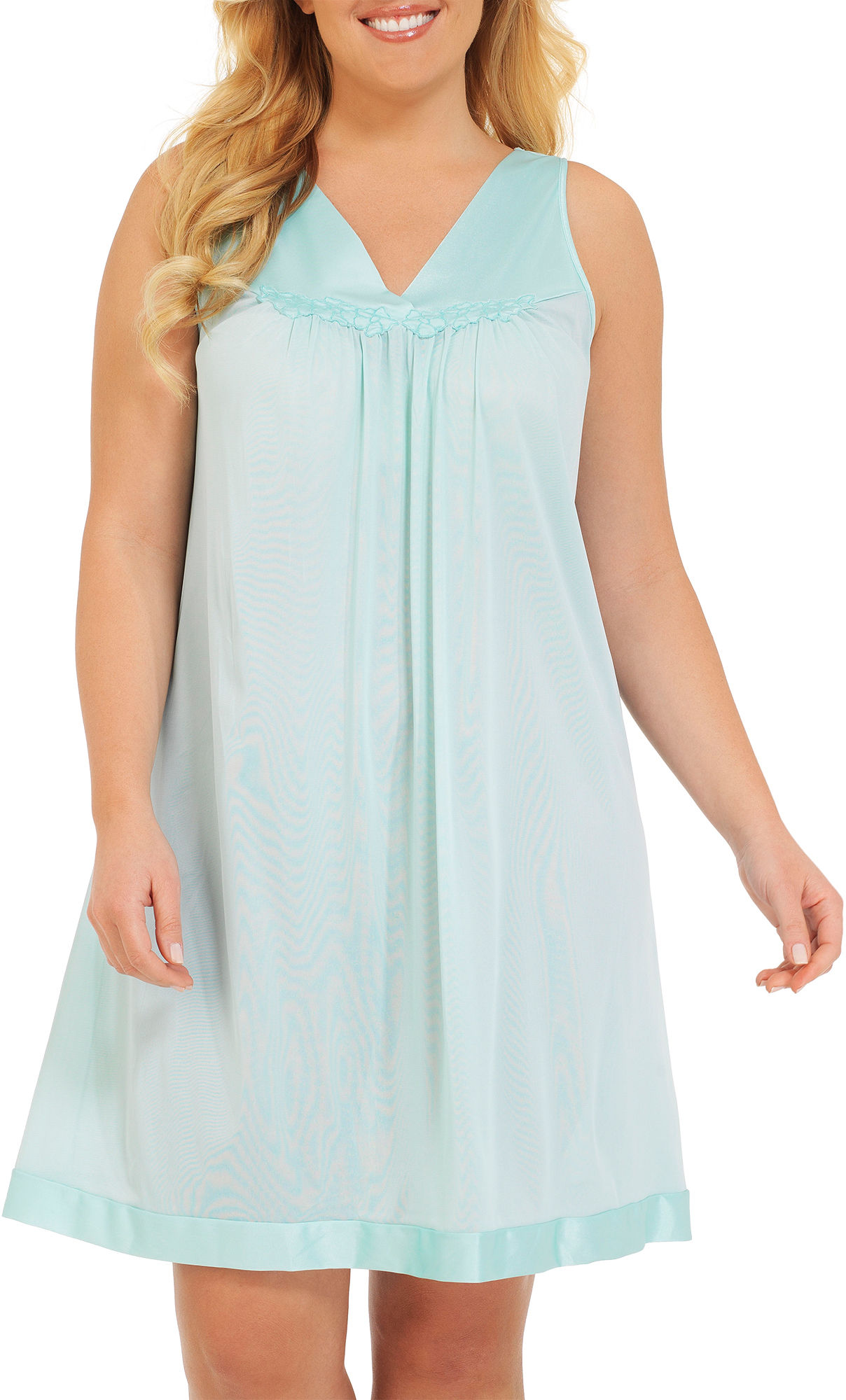 Vanity Fair Sleeveless Nightgown